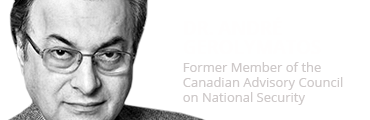 Andre Gerolymatos, Member of the Canadian Advisory Council on National Security