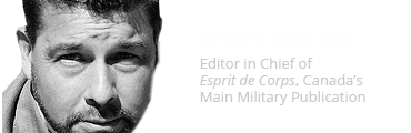 Scott Taylor, Editor in Chief of Esprit de Corps